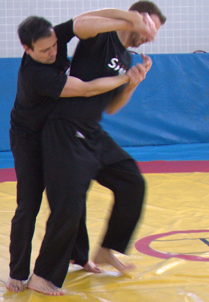 Técnicas defensa personal