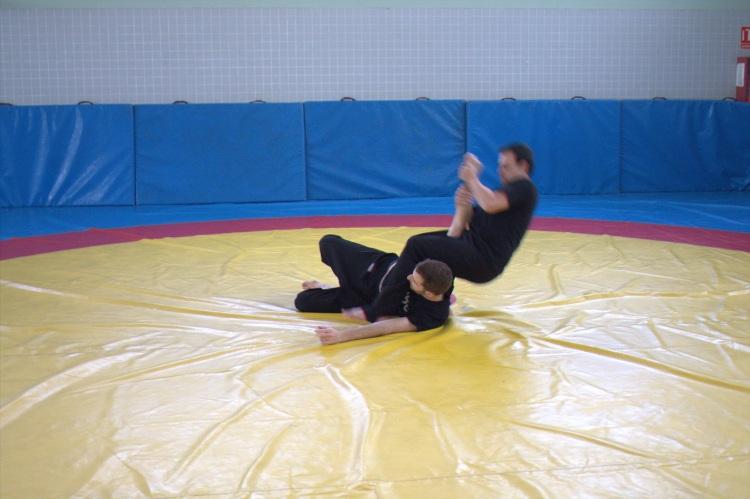 Tecnicas defensa personal  25