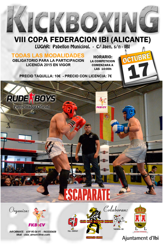 Campeonato Kick Boxing Ibi