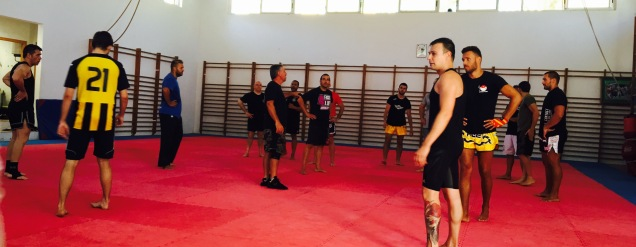 Defensa Personal Curso de entrenadores 5