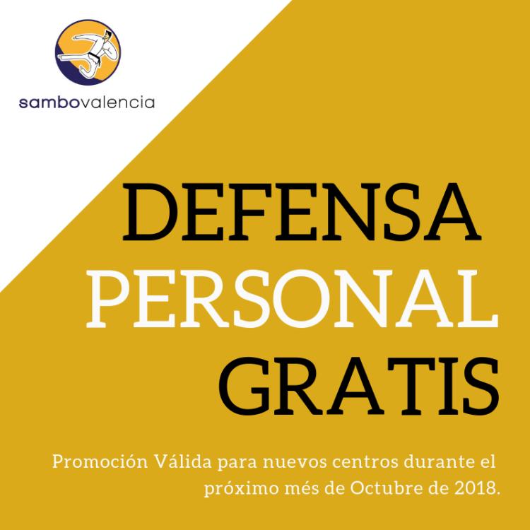 defensa Personal gratis