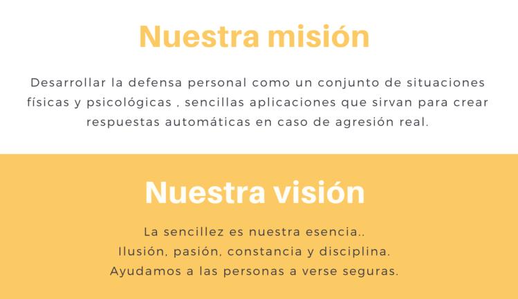 Misión defensa personal sambo valencia